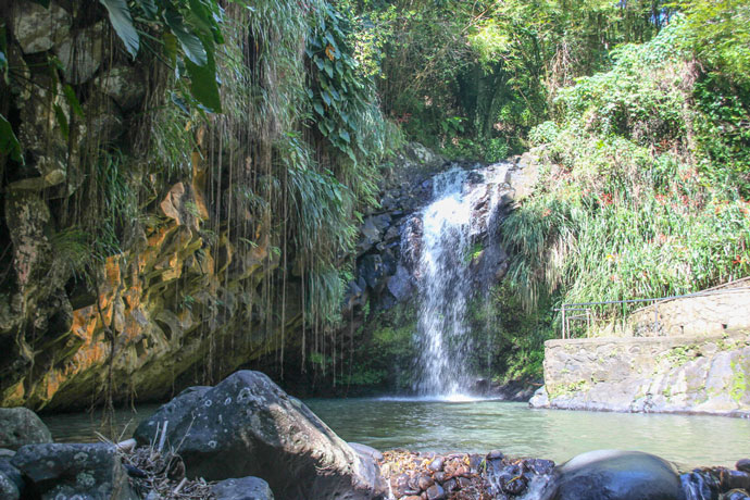 Annadale Falls, waterfall in Grenada