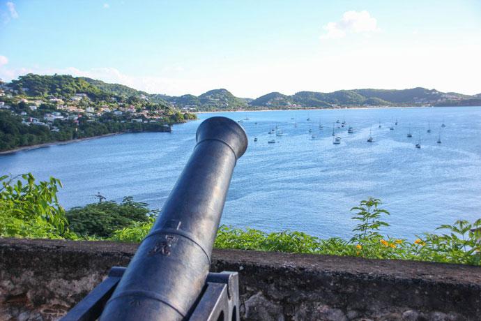 Fort George viewpoint Grenada