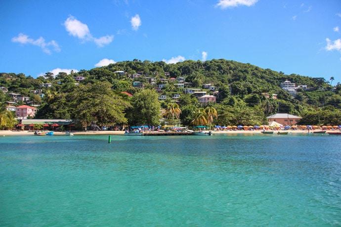 Grand Anse Beach caribbean Grenada