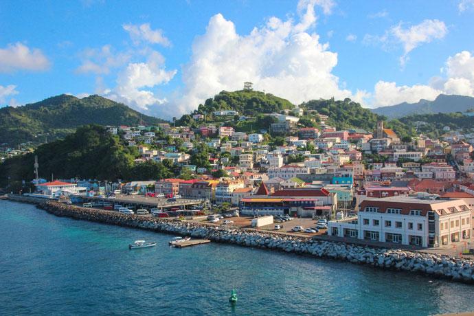 Grenada cruise ship viewpoint