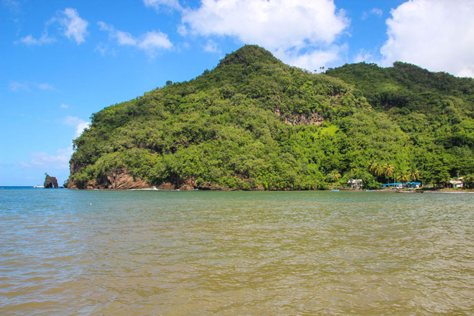 Wallilabou Bay Pirates of the caribbean St Vincent