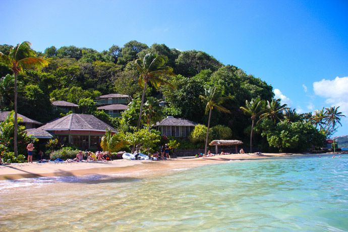 Young Island Beach St Vincent and the Grenadines
