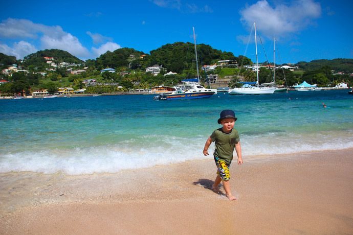 St Vincent and the Grenadines Young Island Beach