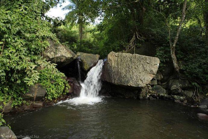 Wallilabou Heritage Park Waterfall