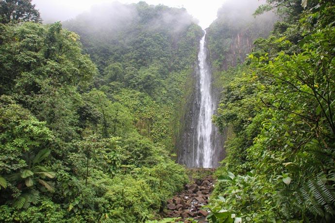 Carbet Falls Guadeloupe waterfall