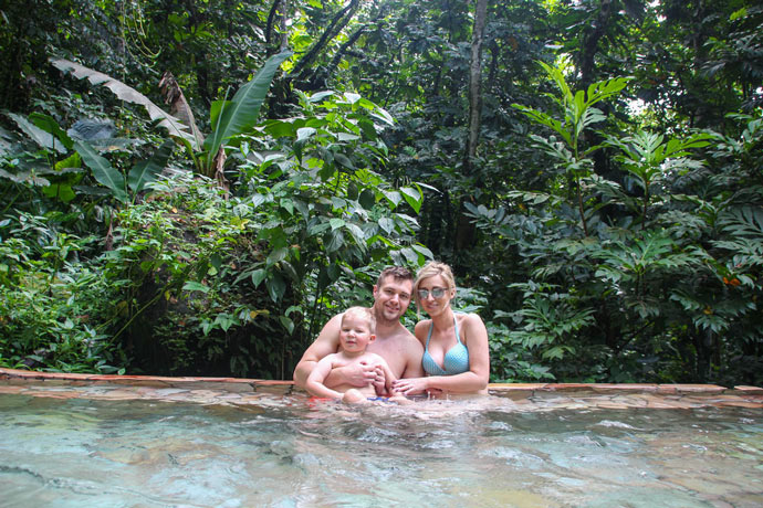 Guadeloupe hot springs