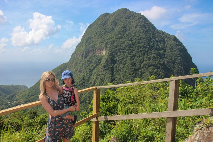 Tel Paul nature Trail Pitons viewpoint - how to see st lucia in a day