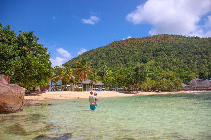 Le Domaine de La Reserve beach