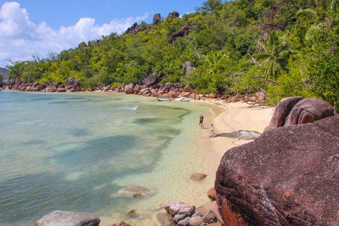 Le Domaine de La Reserve beach viewpoint