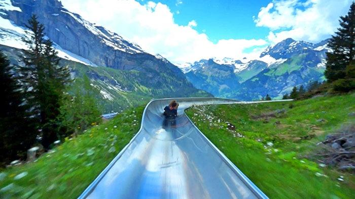 Mountain Coaster Switzerland Kandersteg