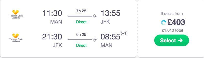 Book flight deal