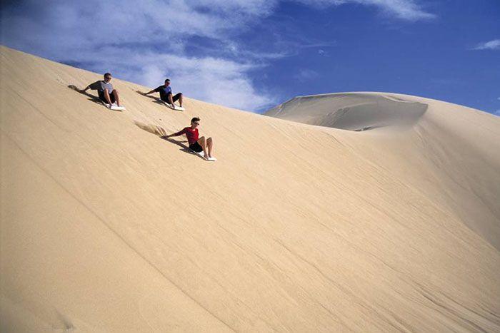 Abu Dhabi sand boarding bucket list ideas for families