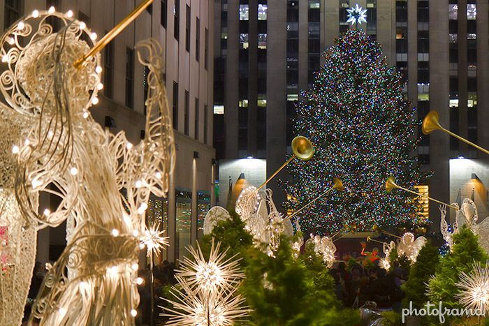 bucket list ideas for families travelling to NYC at christmas with kids