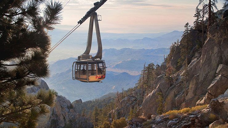 things to do in palm springs with kids - Tramway cable car Palm Springs