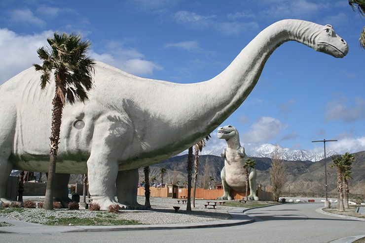things to do in palm springs with kids - Worlds biggest Dinosaur museum
