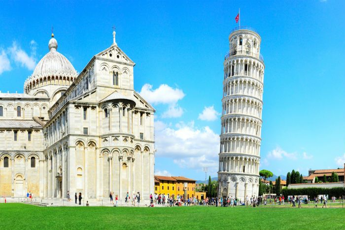 pisa with kids