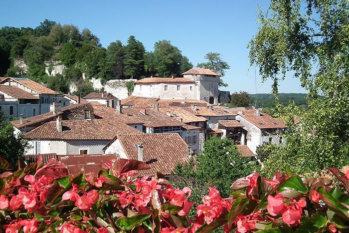 best non-tourist places to visit in europe - less travelled destinations Aubeterre-sur-Dronne, France