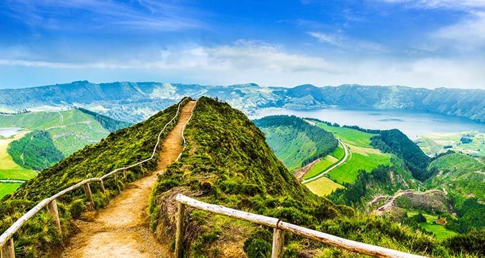 best non-tourist places to visit in europe - less travelled destinations Azores Portugal