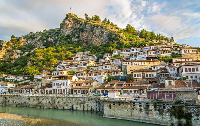 best non-tourist places to visit in europe - less travelled destinations Berat Albania