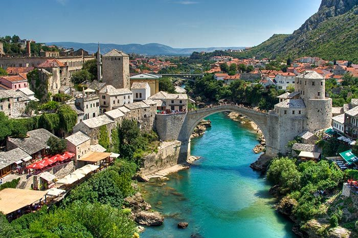 best non-tourist places to visit in europe - less travelled destinations Bosnia