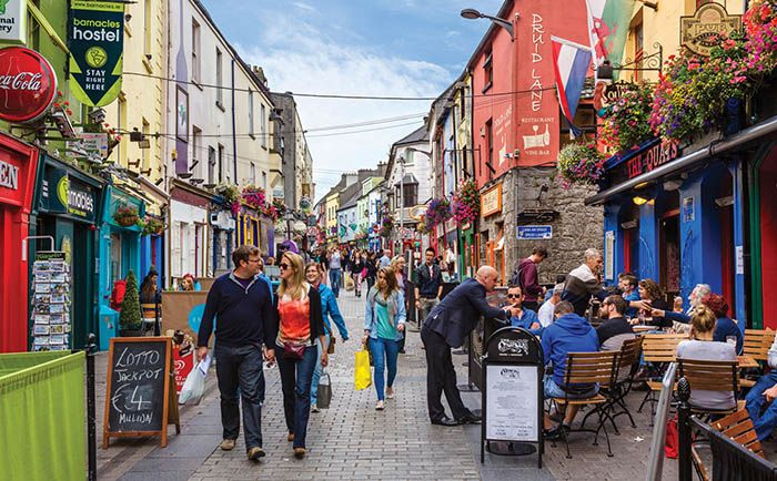 best non-tourist places to visit in europe - less travelled destinations Galway Ireland