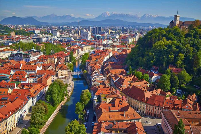 best non-tourist places to visit in europe - less travelled destinations Ljubljana Slovenia