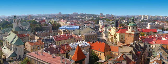 best non-tourist places to visit in europe - less travelled destinations Lublin Poland
