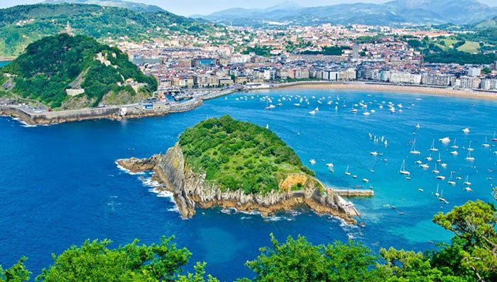 best non-tourist places to visit in europe - less travelled destinations San Sebastian Spain