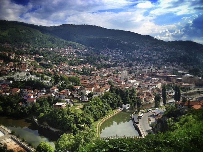 best non-tourist places to visit in europe - less travelled destinations Sarajevo
