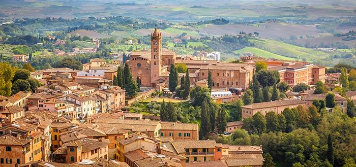 best non-tourist places to visit in europe - less travelled destinations Siena Italy