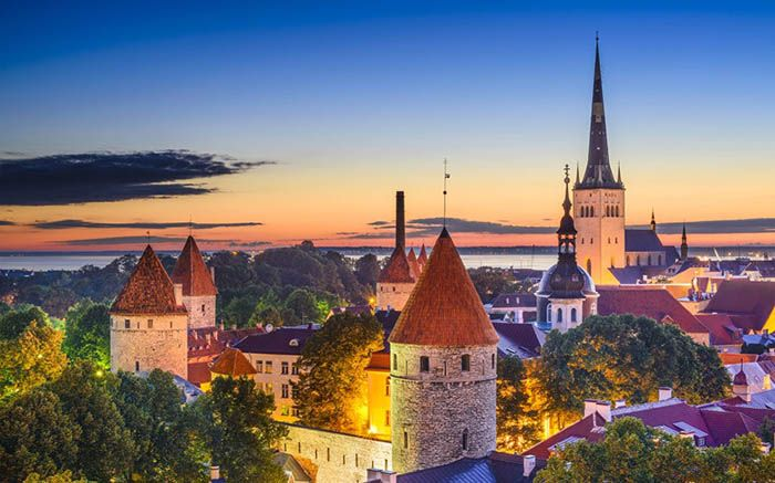 best non-tourist places to visit in europe - less travelled destinations Tallinn Estonia
