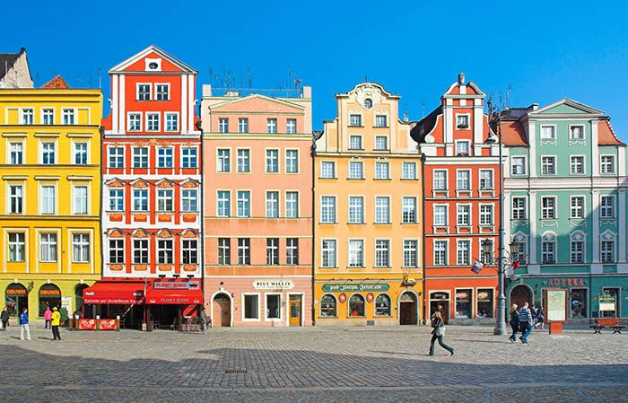 best non-tourist places to visit in europe - less travelled destinations Wroclaw Poland