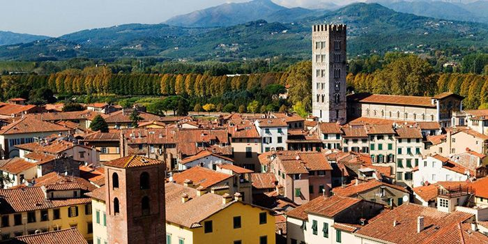 best non-tourist places to visit in europe - less travelled destinations Lucca Italy