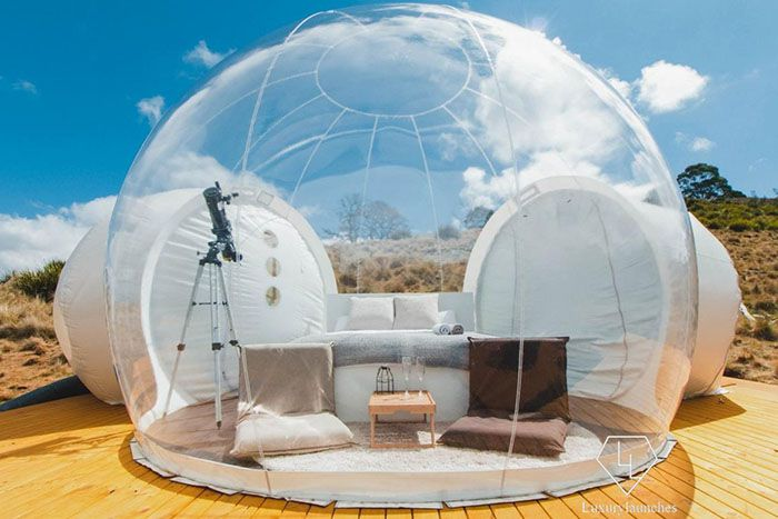 best inflatable bubble tent