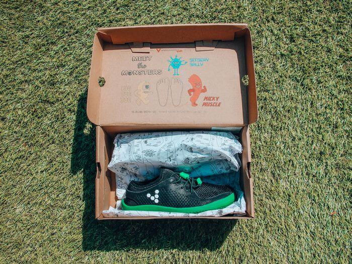 Vivobarefoot Primus Kids Review unboxing