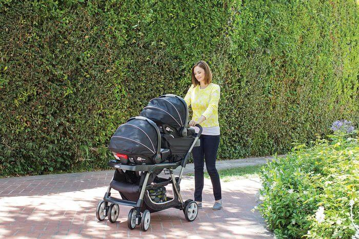 best double stroller for airport travel