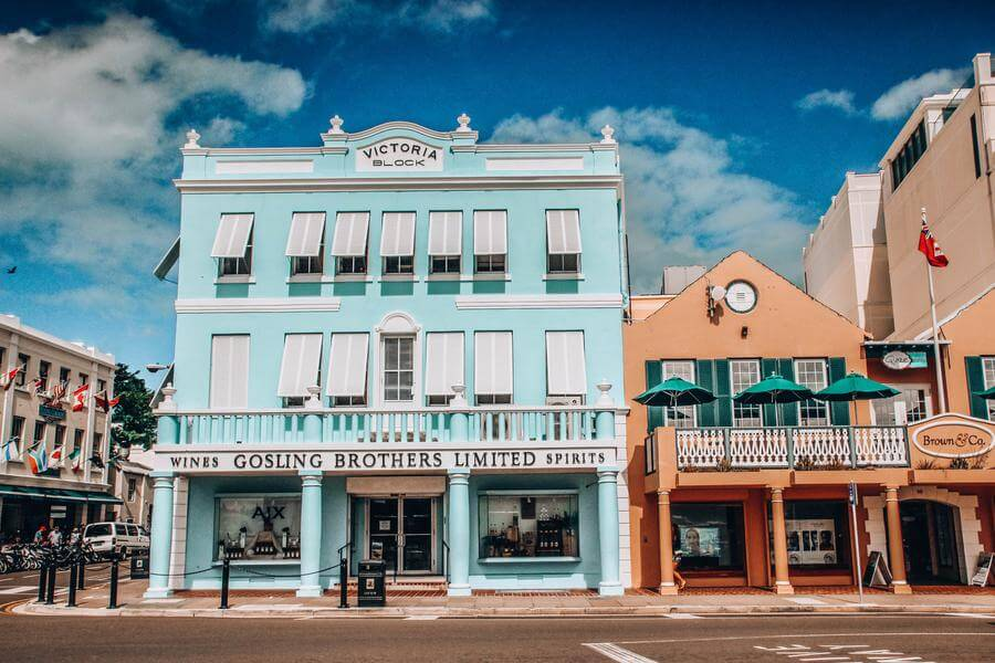 best things to do in Hamilton Bermuda - Front Street