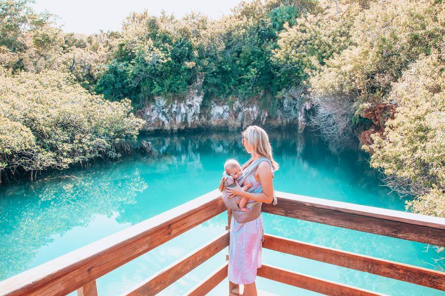 best things to do in Hamilton Bermuda - Blue Hole Park