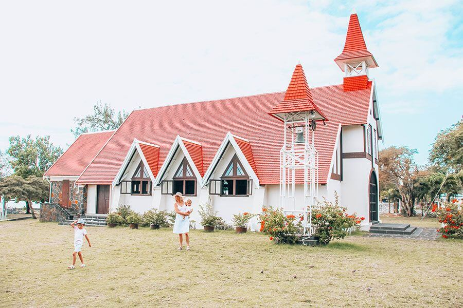 mauritius north island tour itinerary Notre Dam Auxiliatrice