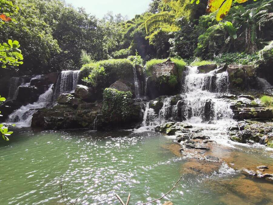 mauritius north island tour itinerary Eureka le Maison Creole waterfall