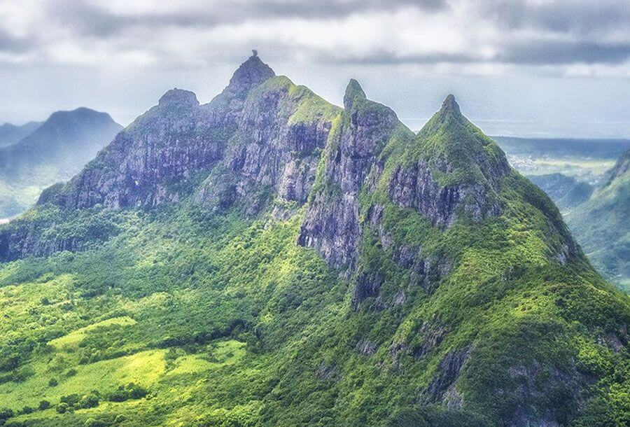 instagrammable places in Mauritius - Le Pouce hiking trail