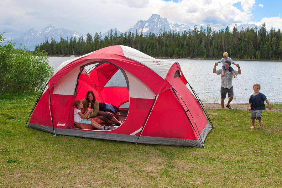 best 6 person tent with screened porch