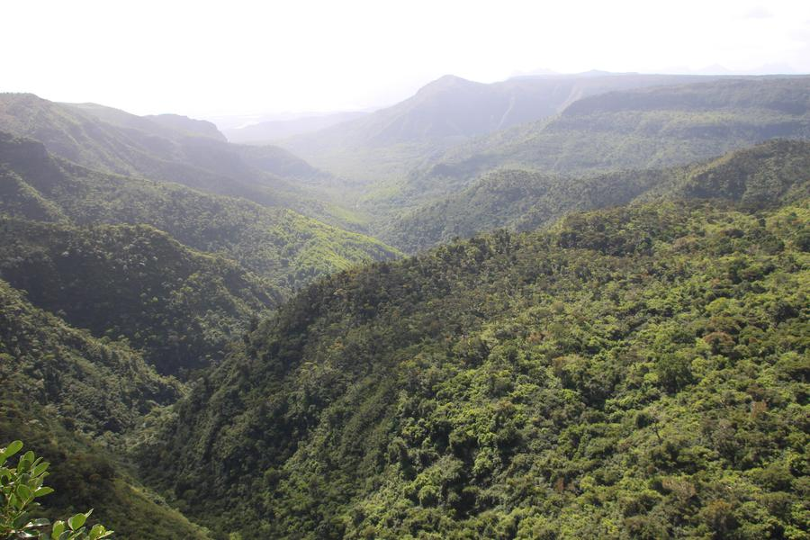mauritius south island tour itinerary - Alexandra Falls Viewpoint
