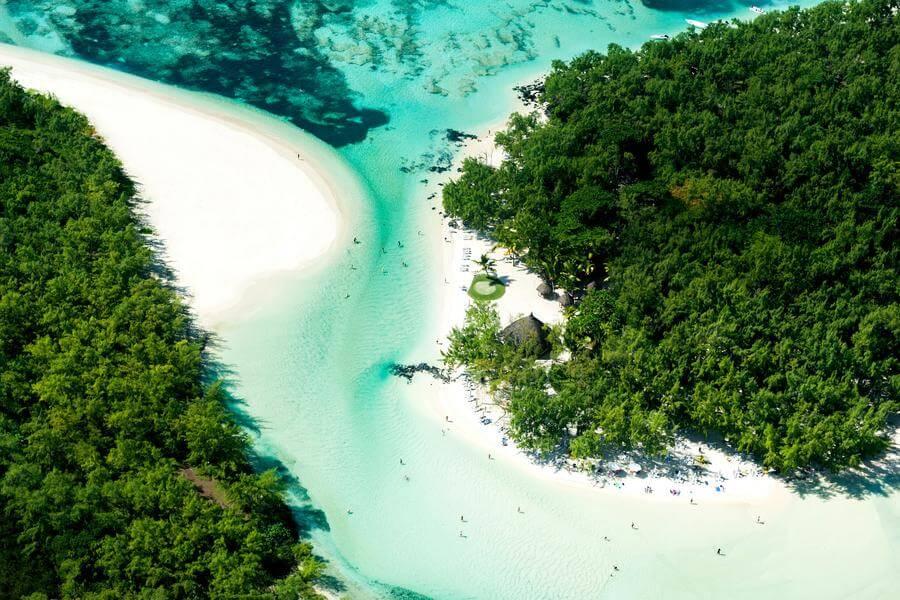 instagrammable places in Mauritius - ile aux cerfs