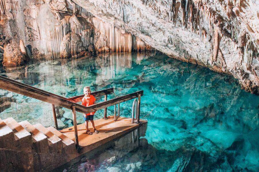 non touristy things to do in bermuda - cathedral cave grotto bay