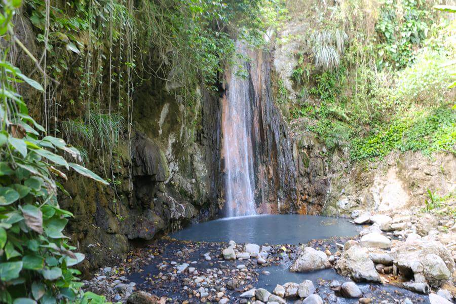 Best Non-touristy Things to do in St Lucia - Diamond Waterfall