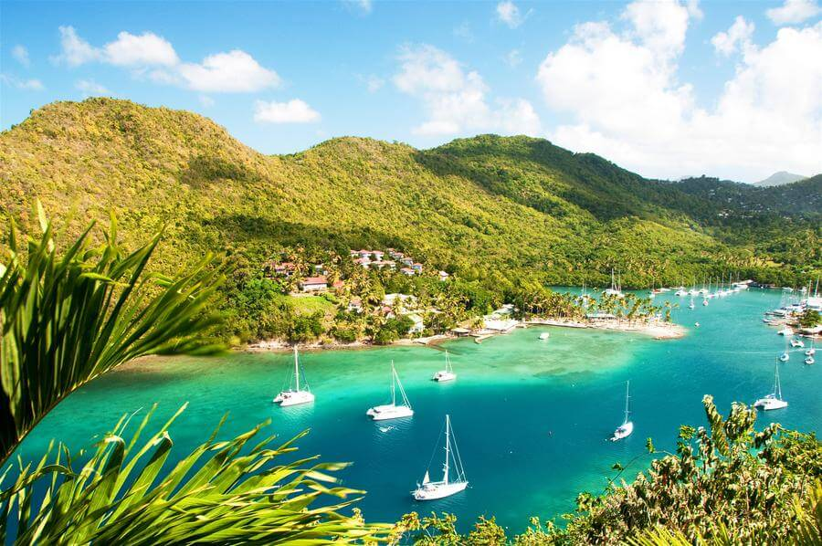 Best Non-touristy Things to do in St Lucia - Marigot Bay