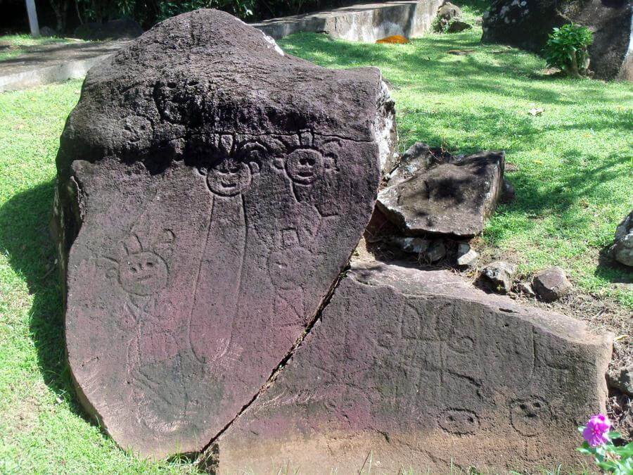 Best Non-touristy Things to do in St Lucia - Stonefield Resort Petroglyphs