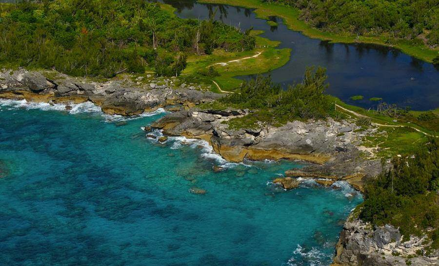 non touristy things to do in bermuda - spittal pond nature reserve