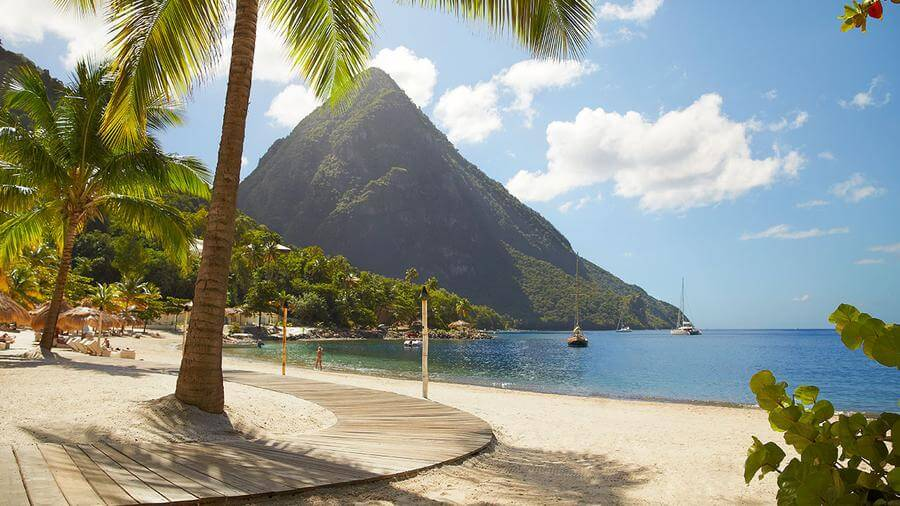 Best Non-touristy Things to do in St Lucia - Sugar Beach